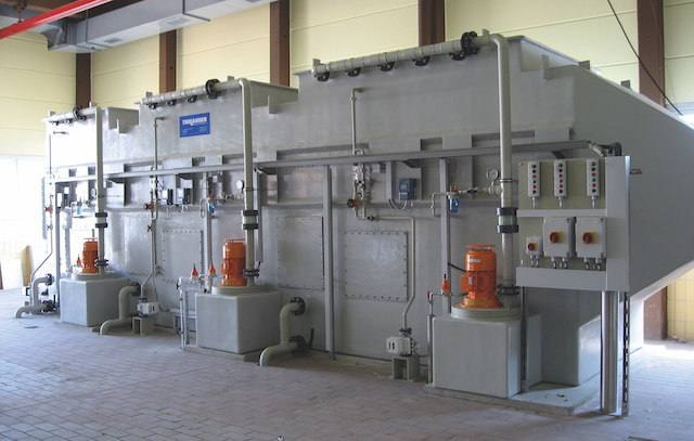 Counter Current Scrubber